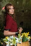 Aerith - Need some flowers? by SoraPaopu