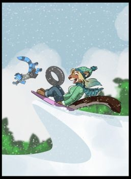 Dashing Through the Snow by Songficcer