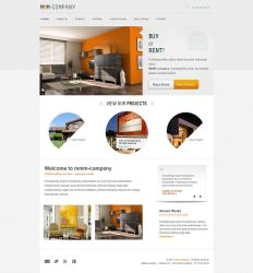 Real Estate website by sinziana