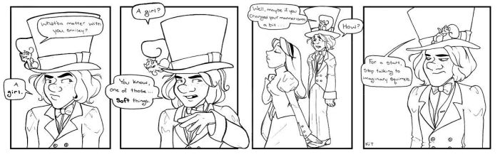 Hatter 25: Wild Card by elephantblue