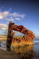 Peter Iredale by kc7eph