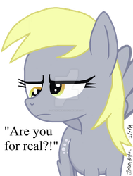 You have displeased the Derpy by lcponymerch