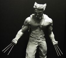 Wolverine Logan by mycsculptures
