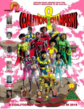 Coalition of Champions Cover by JJStudioComics