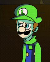 Luigi Scared Animation by mariogamesandenemies