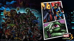 UMvC3 PS3 Wallpaper 8 by TheALVINtaker