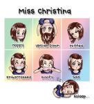 The Faces Of Miss Christina by Miss-Christina-VII