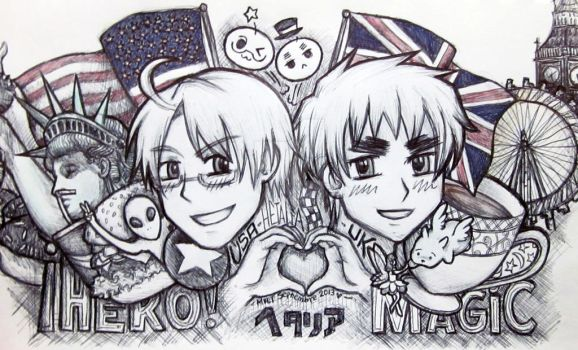 USUK gift art by mariapalitos68
