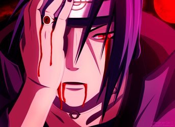 Itachi - Coloreo by elcusi145