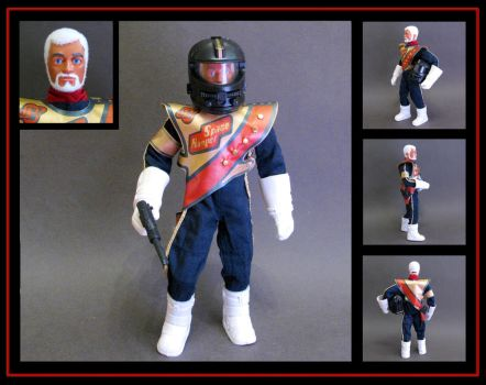 Action man Space Ranger (Admiral) custom figure by nightwing1975