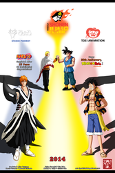 WSJ Heroes and Legends by KyuubifiedHokage