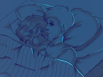 Laying in bed with u by MDesignInc