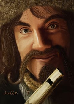 Bofur - The Hobbit by Julie-Tr