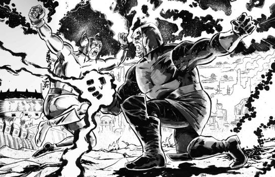 One of my favorite requests..Darkseid vs Orion! by dannphillips
