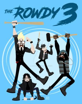 The Rowdy 3 by JerseyHellboy