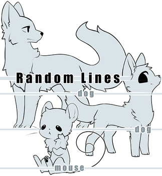 Dog Dog Mouse Line Base Set [P2U] by BaseAdopts