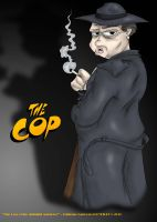 The Cop by OuthouseCartoons