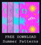 FREE DOWNLOAD - Summer Pattern by PointyHat
