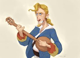 Guybrush Threepwood by ShikaruOC