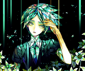 Phosphophyllite - HOUSEKI NO KUNI by Neuronii