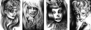 portraits by lady-sable