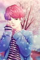 Jimin Spring Day - You Never Walk Alone by HaruKuCha