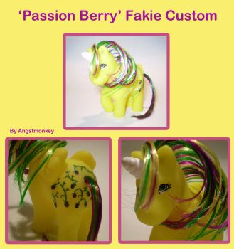 Passionberry Fakie Custom by angstmonkey