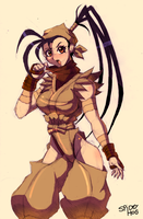 Ibuki by SpideyHog