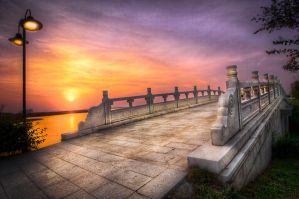 Suzhou, The Bridge to the Temple by alierturk