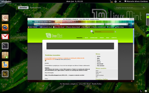 Gnome 3 in Linux Mint-6 by malvescardoso