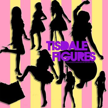 Tisdale PNG Figures by letsgomasquerading