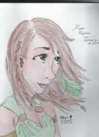 Piper McLean: Daughterof Aphrodite by ClaireW-artist