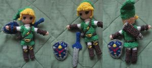 Mini Link Amigurumi by PurpleTakara