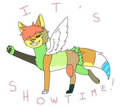 it's showtime! by Takura-Nokinu