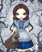 Dorothy and Toto by jasminetoad