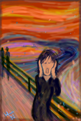 :Scream with me Munch: by HOON