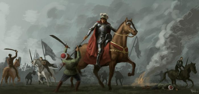 Battle for Varna 1444 by amnakin