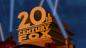 20th Century Fox logo (1981) with Disney byline by HakunaMatata15