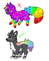 Sparkledog 101 #1 - Rainbows and Patterns by KryptoniteRogue