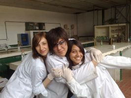 Marcia, Me And Rocio by Max-Hiromeshi