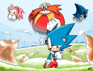 Sonic CD goes 25 years! by NkoGnZ
