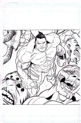 Hip Hop Hulk cover-Monsters Unleashed by BroHawk