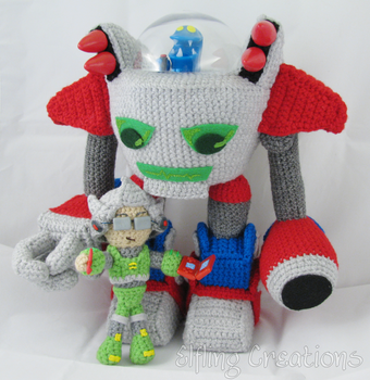 Ethan And Nathan - Robot Monster Tale Dolls by merigreenleaf