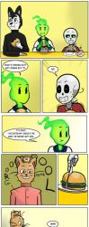Undertale Green Chapter 3 Page 20 by FlamingReaperComic