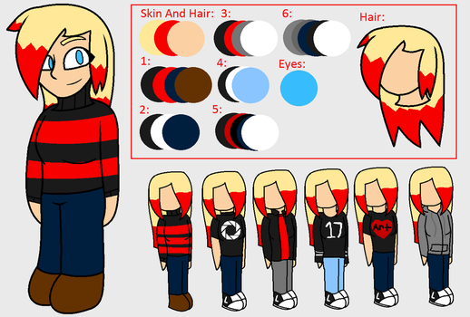 Persona Ref by lexielou04