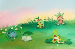 Grass Starters by Emesbury1397