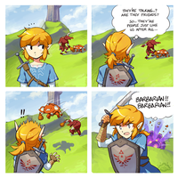 Breath of the Wild - Barbarians by aquanut