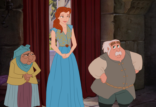 Disney x GoT - Olenna, Margaery and Mace Tyrell by Qemma