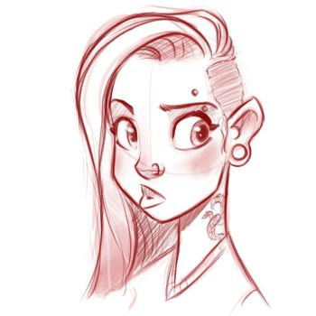 Train Sketch by MattThorup