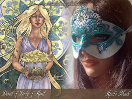 Lady of April Set by AngelaSasser